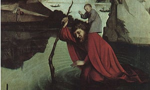 Saint Christopher by Konrad Witz, c1435