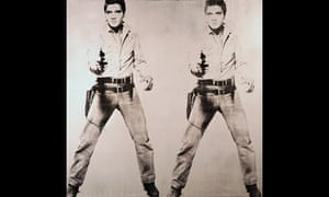 andy warhol double elvis