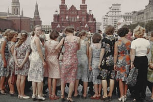 Savelev: Red Square Girls, 1981, Boris Savelev