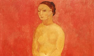 Nude with Joined hands (Grand Nu Rose – Fernande), 1906
