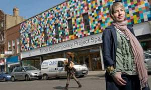 The curator of the Turner Contemporary, Sarah Martin