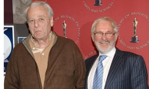 William Goldman with Moonstruck director Norman Jewison in 2007