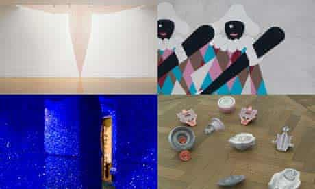 Work by the 2009 Turner prize nominees