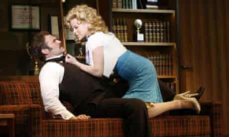 Marc Kudisch and Megan Hilty in 9 to 5: The Musical