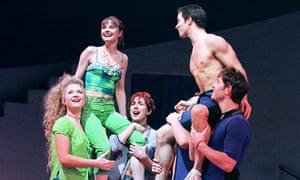Mamma Mia! at the Prince Edward theatre, 1999