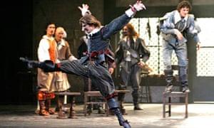 Robert Parker as Cyrano, Birmingham Royal Ballet 2007
