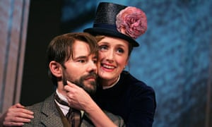 Daniel Evans with Jenna Russell in Sunday in the Park with George, Wyndhams Theatre 2006
