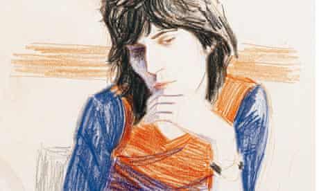 Keith Richards by Elizabeth Peyton