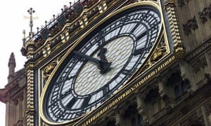 Clock face of Big Ben, Houses of Parliament