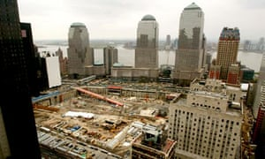 Construction at Ground Zero, World Trade Centre