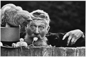 Don McCullin: Snowy, Cambridge, man mouse mouth, Don McCullin