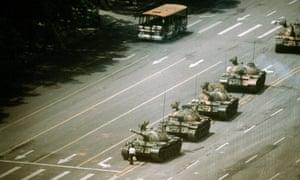 Stuart Franklin: Tienanmen Square, Beijing. The Tank Man