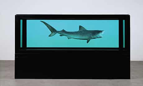 Damien Hirst: shark in formaldehyde