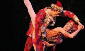 Edward Watson and Leanne Benjamin in the Royal Ballet's Firebird in 2006