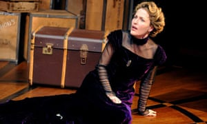 Gillian Anderson as Nora in A Doll's House at the Donmar Warehouse