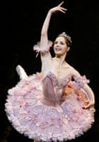 Darcey Bussell as Princess Aurora in the Royal Ballet's Sleeping Beauty in 2003