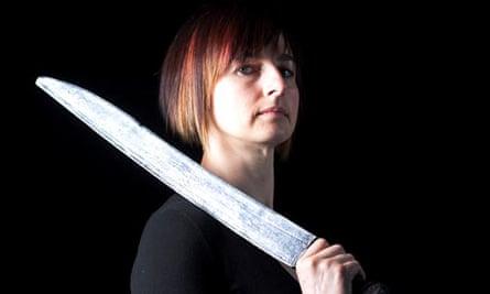 Kate Waters, AKA Kombat Kate, theatrical fight choreographer
