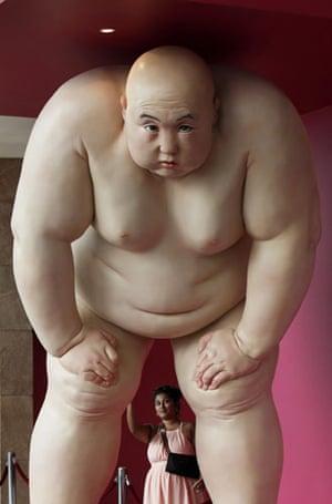 Nude No 2 by Chinese artist Mu Boyan
