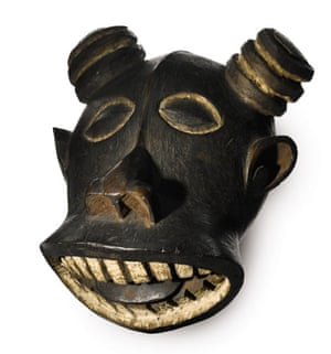 Buffalo mask sold at Sotheby's