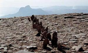 Richard Long: A Line in Scotland