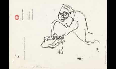 Tracey Emin's Fish Woman, 1990