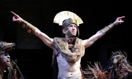 Greg Hicks in the RSC's Julius Caesar at the Courtyard, Stratford-upon-Avon