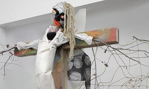 Agathe Snow at the Saatchi gallery