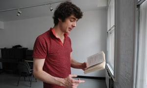 Student reciting at RADA, UCL London