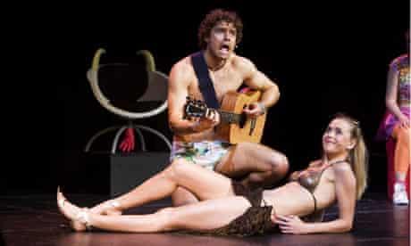 Ben Freeman and Sophie Ladds in Big Bruvva The Musical, Edinburgh Fringe, 2008