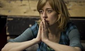 Lucy Ellinson in Monsters at the Arcola