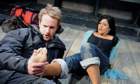 On The Beach from The Contingency Plan at Bush Theatre, 2009