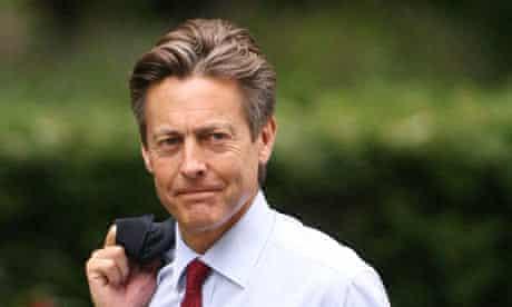 Ben Bradshaw, culture secretary, arrives at Downing Street