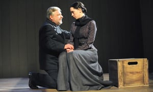 Simon Russell Beale and Rebecca Hall in The Cherry Orchard at the Old Vic