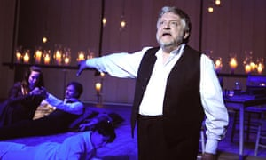 Simon Russell Beale in The Winter's Tale at the Old Vic