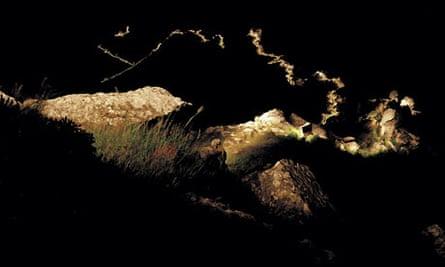 Detail of Tim Knowles's Valley of Rocks #1