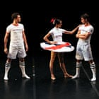 The Beautiful Game - A Football Ballet by English National Ballet at the Unicorn Theatre in London