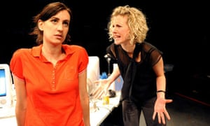 Susanna Fiore and Charlotte Flintham in Oh Well Never Mind Bye at the Union Theatre