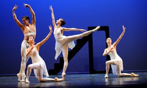 Balanchine's Apollo, performed by English National Ballet