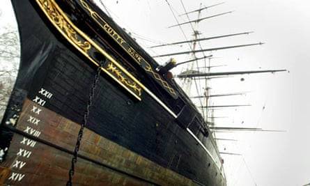 The Cutty Sark in Greenwich, London