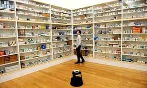 Damien Hirst: Pharmacy, part of Classified at Tate Britain