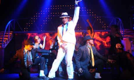 Ricko Baird in Thriller Live at the Lyric, Shaftesbury Avenue