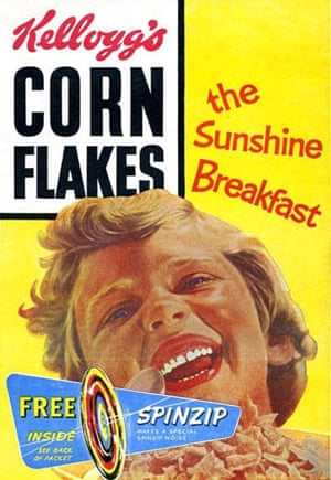 Corn Flakes: Corn Flake packet in the 1960s