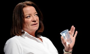 Clare Higgins in The Fever by Wallace Shawn at the Royal Court