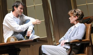 Ed Stoppard and Samantha Bond in Arcadia at the Duke of York's theatre