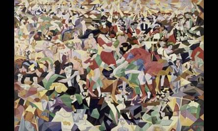 Severini's Dance of the 'Pan-Pan' at the Monico
