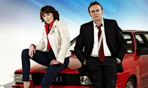 Ashes to Ashes: Keeley Hawes as Alex Drake; Philip Glenister as Gene Hunt