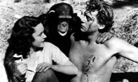Tarzan the Ape Man, with Johnny Weissmuller