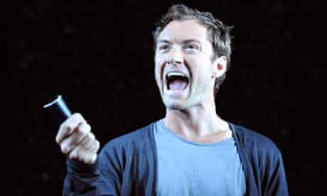 Jude Law in Hamlet