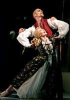 Sarah Wildor and Adam Cooper in Les Liaisons Dangereuses at Sadler's Wells in 2005