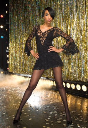 Michelle Williams as Roxie Hart in Chicago